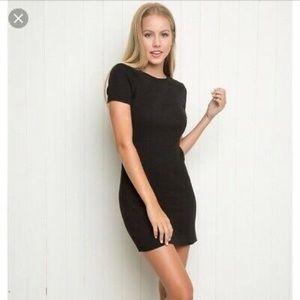 Brandy Melville Ribbed T Shirt Dress